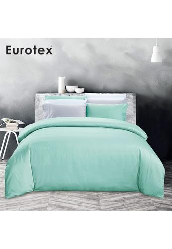 Eurotex Eurotex Home,900TC 100% Cotton Sateen, Bed set, Soho Turquoise 07D3CHL5CF2E2BGS_1