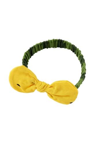Naomi Wear yellow Watermelon Hair Band 4CF04KC98B7530GS_1