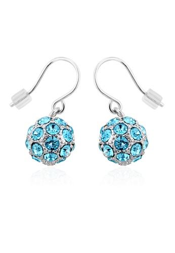 OUXI blue OUXI Happiness Earrings (Aquamarine) OU821AC79UGIMY_1