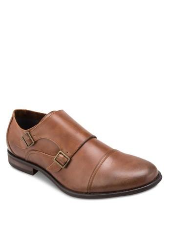 雙扣環仿esprit台灣皮蒙克鞋, 鞋, 鞋