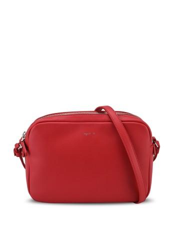 agnès b. red Shoulder Sling Bag 989BEAC2386DBBGS_1