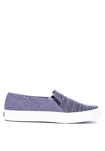 09a9766fa Shop Keds Double Decker Stripe Slip On Sneakers Online on ZALORA Philippines