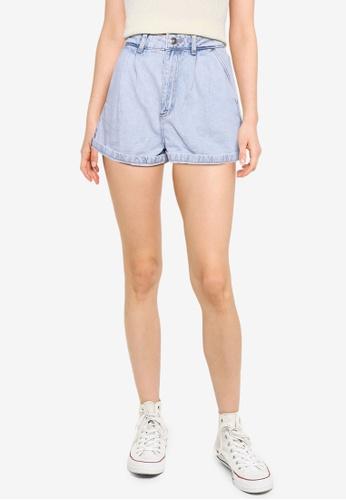 Supre blue 90s Slouch Denim Shorts 0BA0CAA5C4A13EGS_1