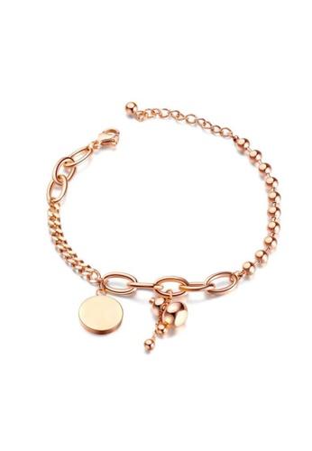 "CELOVIS gold CELOVIS - Blessed ""Hulu"" Bracelet in Rose Gold E324BAC684C358GS_1"