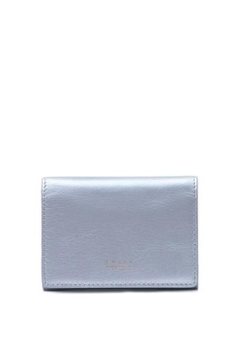 Enjoybag Flynn Smart's Saffiano Leather Card Holder EN763AC40NCXHK_1