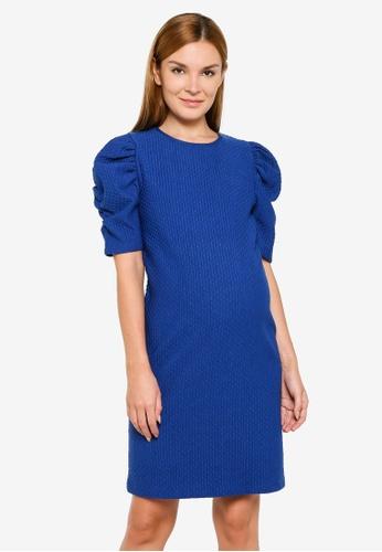 Mama.licious blue Maternity Lola Jersey Dress 212CEAAFC1E1CEGS_1