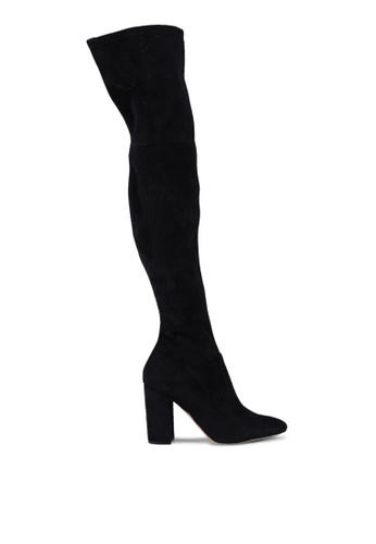 ALDO black Maede Over The Knee Boot Heels 5C6F3SH5F16BF5GS_1