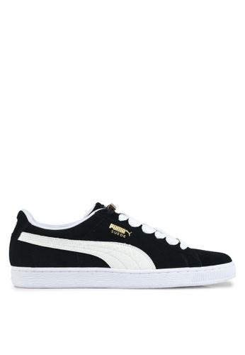 Puma black and white Suede Classic Bboy Fabulous Shoes PU549SH0SWE8MY_1