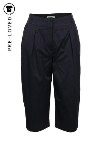 L'agence blue Pre-Loved l agence Navy Blue Wide-Leg Pants D4F60AA98EF3FFGS_1