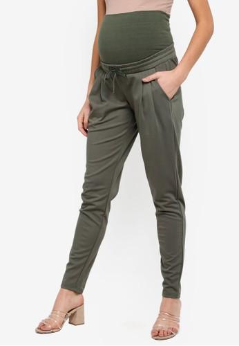 Mama.licious green Maternity Lif Jersey Pants C74E8AAB8A89B6GS_1