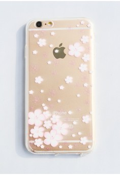 Flowers Soft Transparent Case for iPhone 6/6s
