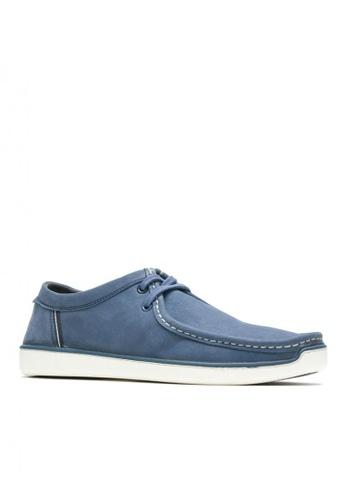 Hush Puppies blue Men's Casual Shoes Toby Oxford 5DA9DSHE0A4D77GS_1