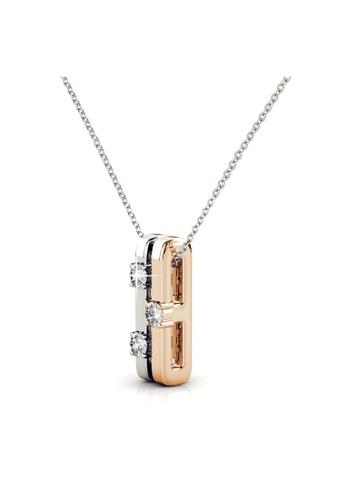 Her Jewellery multi Swarovski® Crystals - Bonding Pendant (18K White Gold Plated) Her Jewellery HE581AC0R9UEMY_1