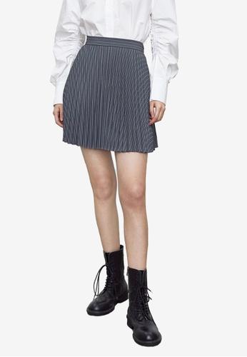 URBAN REVIVO black Casual Skirt DA2F9AA7352909GS_1