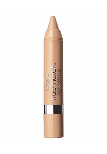 L'Oréal Paris beige L'Oreal Paris True Match Crayon Concealer Light /Medium Warm W4-5 73D9ABEBE599C1GS_1