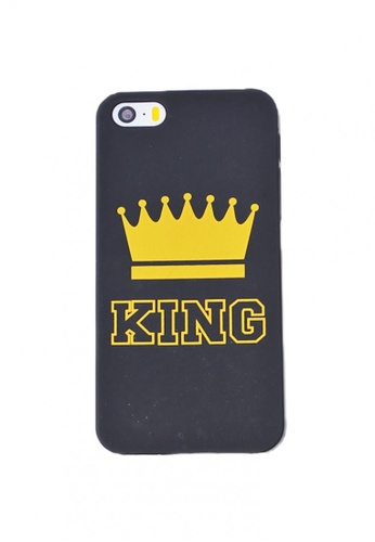 Fancy Cellphone Cases black King Hard Case for iPhone 5/5s/SE 51636ACD793923GS_1