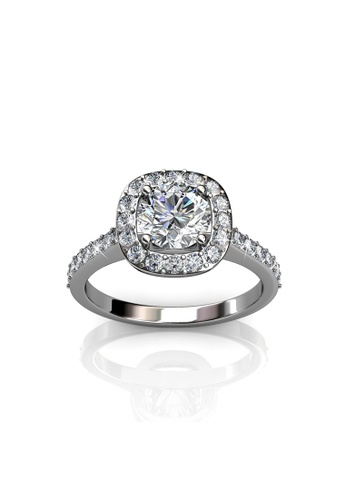 Her Jewellery silver Her Jewellery Cushy Ring with Premium Grade Crystals from Austria 10C6BAC175A53DGS_1