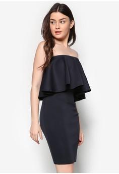 Love Flared Layer Tube Dress
