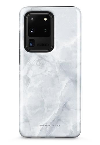 Polar Polar grey Snow Mountain Samsung Galaxy S20 Ultra 5G Dual-Layer Protective Phone Case (Glossy) D4524AC109B665GS_1