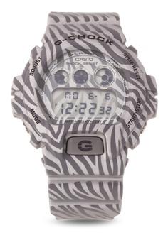 71982c63e640 Casio grey G-SHOCK Watch DW-6900ZB-8-GRAY CA076AC79AIEPH 1