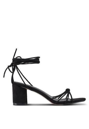 Public Desire black Breeze Heels B7C91SH2B0B93BGS_1