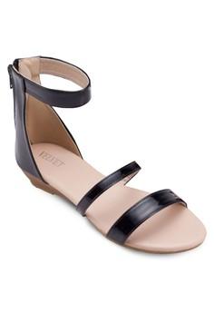 Emilia Double Panel Strap Sandals
