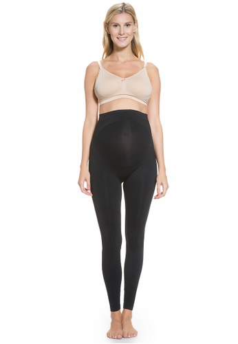 Mayarya black Maternity Lift & Support Leggings 37BB2AAC49FBDDGS_1