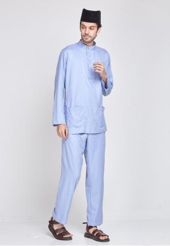 MOTHER & CHILD blue Baju Melayu Sultan Exclusive 67247AA22E922DGS_1