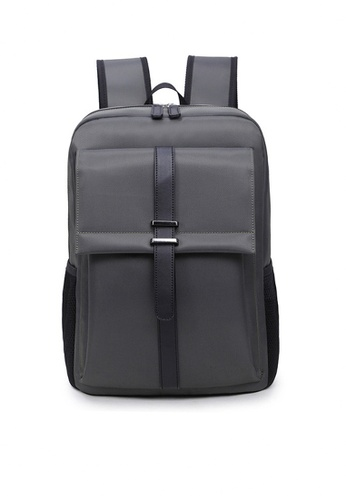 Twenty Eight Shoes grey VANSA New Simple Multipurpose Backpacks  VBU-Bp1813 41234AC98A6331GS_1