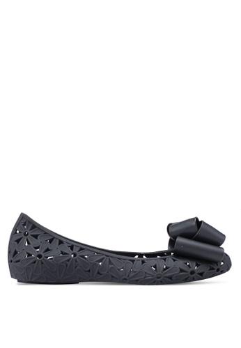 Twenty Eight Shoes 黑色 蝴蝶結雕花平底鞋 2D0CCSH949AF5FGS_1