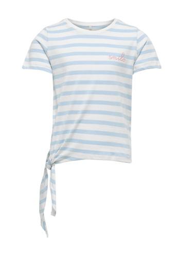 ONLY blue Brave Short Sleeve Knot Top 5A6D8KAD173EAFGS_1
