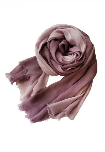 HAPPY FRIDAYS Cotton Yarn Mix Color Tie Dye Scarf JW JS-1100 6C631ACB9C259BGS_1