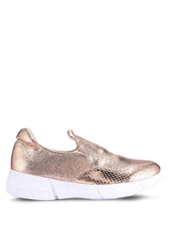Carlton London 金色 金屬感懶人鞋 7DC5ASH18EDF50GS_1