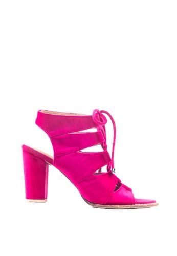 M&G pink Dawson Heels by M&G A1265SH24E9D50GS_1