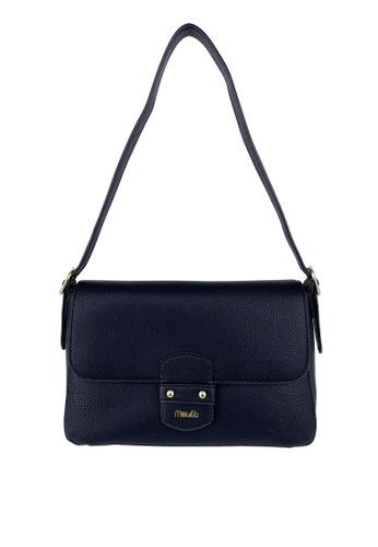Mel&Co black Faux Leather Shoulder Bag 3E626AC3620772GS_1