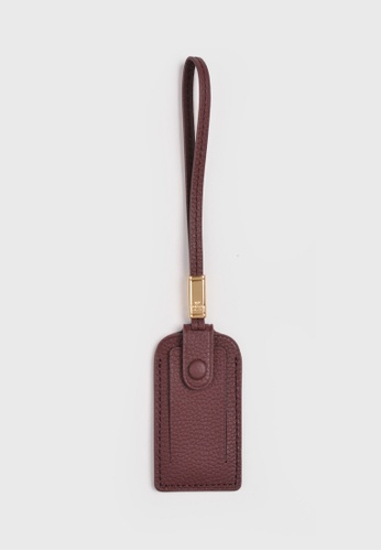 Tocco Toscano red Aimee Luggage Tag (Burgundy) 40282AC7231953GS_1
