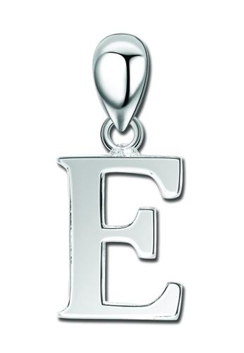 "SC Tom Silver silver Letter Pendant "" E "" SC872AC0J6H6PH_1"