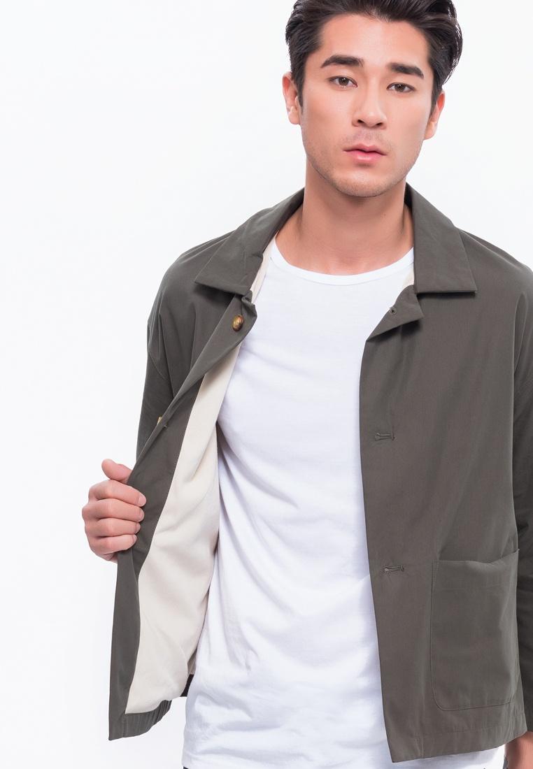 Alpha Style Cropped Olive Dark Aron Jacket fnYazqwE0w
