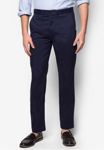 棉質修身西裝長褲, zalora 心得服飾, 窄管褲