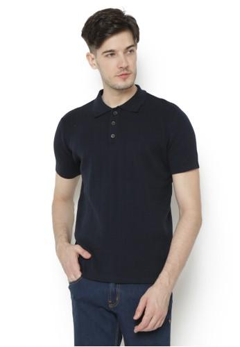 Knitwork black Knitwork Black Stallion Polo Shirt 9D405AA501DE39GS_1