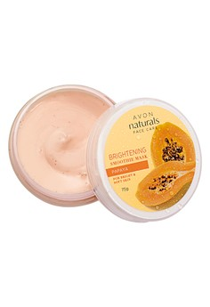 Avon Naturals Papaya Brightening Smoothie Mask