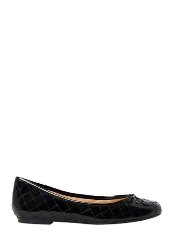 Nina Armando black Laura Patent Leather Ballet Flats NI342SH0FV95SG_1