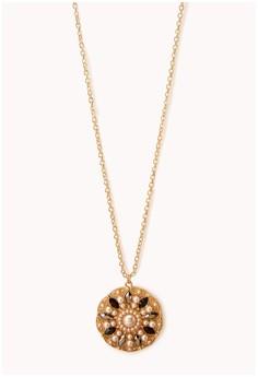 Opulent Medallion Necklace