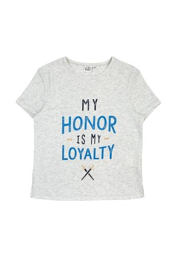 Vauva grey Vauva Kooala Boys Honor Loyalty Tee E7DCEKA41C0D70GS_1