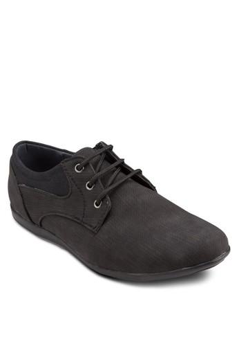 混合材質三眼繫帶休閒esprit 台中鞋, 鞋, 鞋