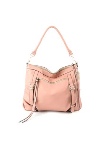 Sesura pink Buckle Away Tassle Bag SE113AC29COGPH_1