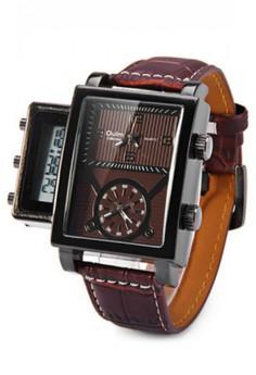 Oulm Digital Day Alarm Wrist Watch