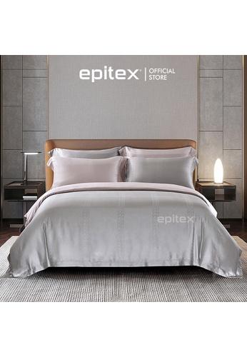Epitex Epitex MJ3020-1 1600TC Micro Modal Jacquard Bedset (w quilt cover) B3442HL6ED0EEFGS_1