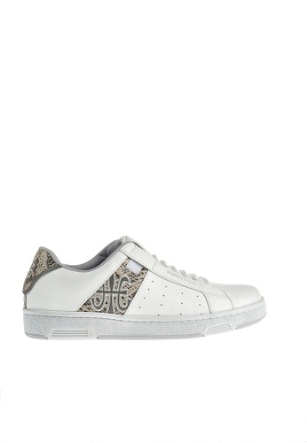 Royal Elastics white Icon Leather Sneakers RO796SH2UYKKHK_1