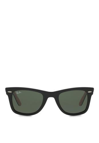92d25fe2f30 Ray-Ban black Original Wayfarer RB2140 Sunglasses RA370GL01RXYSG 1